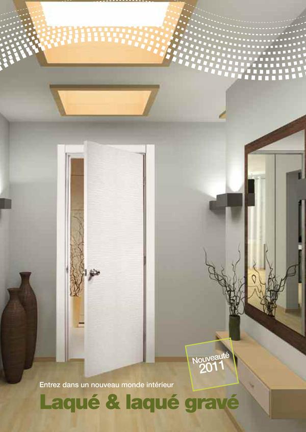 Porte d interieure contemporaine deco maison moderne - Porte interieure contemporaine ...